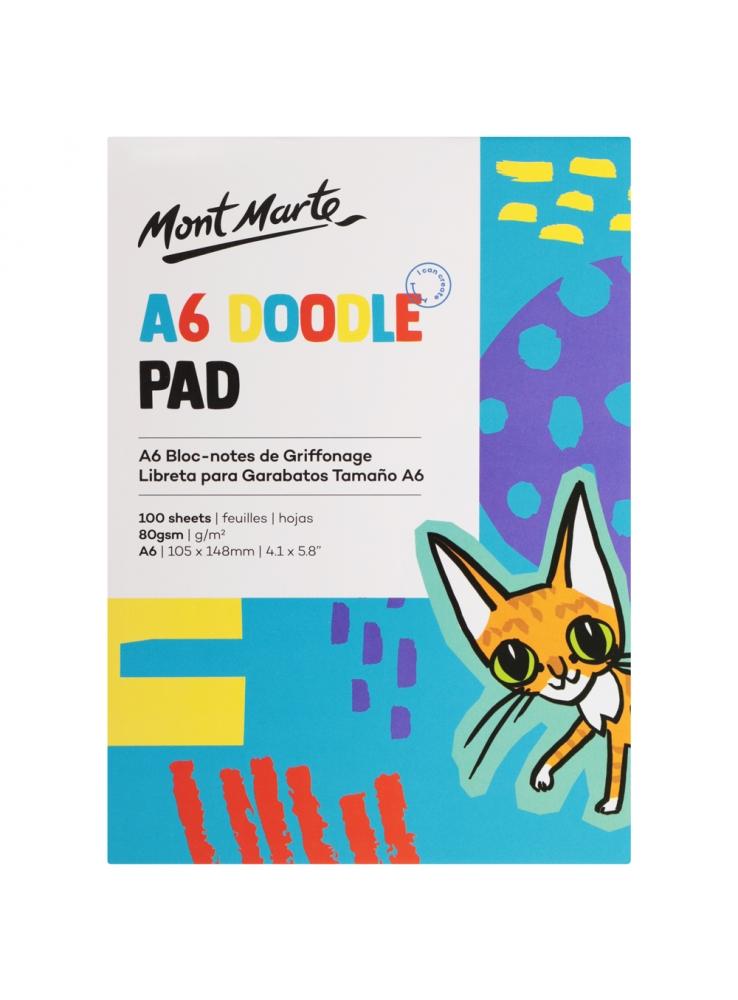 MONT MARTE Kids Doodle Pad A6 100 Sheet