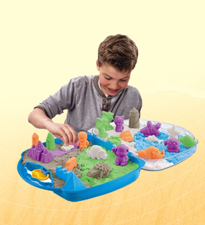 Play Dough, Sand & Moulds