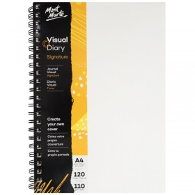 MONT MARTE Visual Diary Paper Cover 120pg 110gsm A4