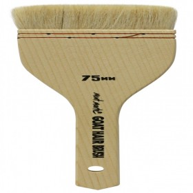 MONT MARTE Goat Hair Pine Wood Brush - 75mm