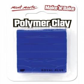 MONT MARTE  Make n Bake Polymer Clay - Royal Blue