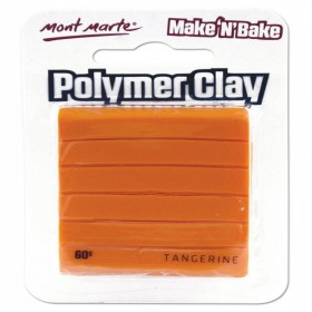 MONT MARTE  Make n Bake Polymer Clay - Tangerine
