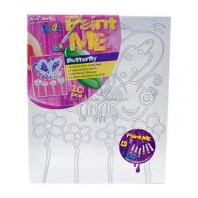 MONT MARTE Kids Paint Me Set 10pc - Butterfly