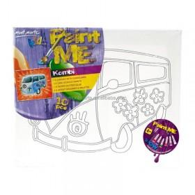 MONT MARTE Kids Paint Me Set 10pc - Kombi