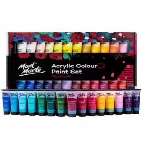 MONT MARTE Acrylic Paint Set 48pc x 36ml