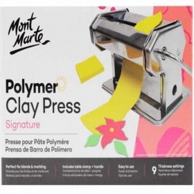MONT MARTE Polymer Clay Press