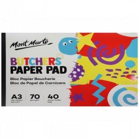 MONT MARTE Butchers Paper Pad A4 40 Sheets