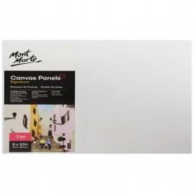 MONT MARTE Canvas Panels Pack 2 20.3x25.4cm