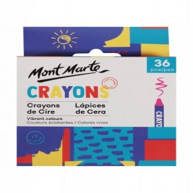 MONT MARTE Crayons 36pc