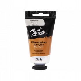 MONT MARTE Dimension Acrylic 75mls - Pearl White