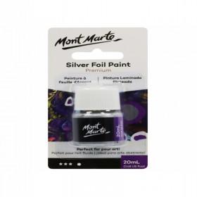 MONT MARTE Silver Foil Paint 20ml