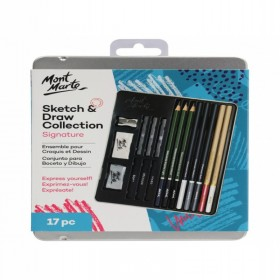 MONT MARTE Sketch & Draw Collection 17pc