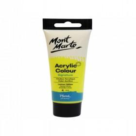 MONT MARTE Studio Acrylic Paint 75ml - Lemon Yellow