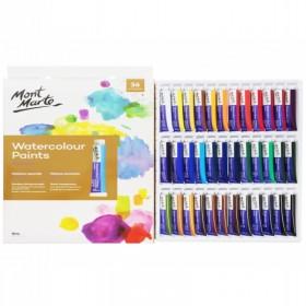 MONT MARTE Watercolour Paints 36pc x 8ml
