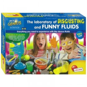 THE LABORATORY OF DISGUSTING AND FUNNY