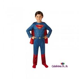 JUSTICE LEAGUE SUPERMAN LARGE COSTUME