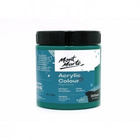 MONT MARTE Studio Acrylic Paint 300ml - Viridian
