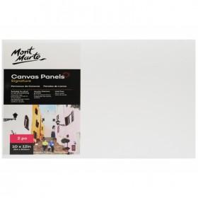 MONT MARTE Canvas Panels Pack 2 25.4x30.5cm