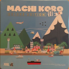 MACHI KORO CARD GAME DELUXE EDITION CARD