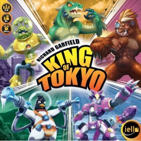 KING OF TOKYO: NEW EDITION BOARD