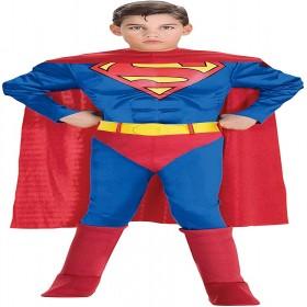 DELUXE SUPERMAN COSTUME MEDIUM