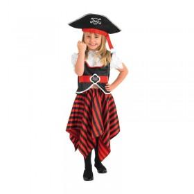 GIRL PIRATE CHILD COSTUME LARGE