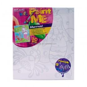 MONT MARTE  Kids Paint Me Set 9pce - Mermaid
