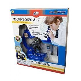 MICROSCOPE SET 100x450x900