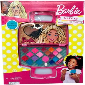 BARBIE MAKE UP TOY COSMETIC 6+