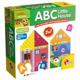 ABC LITTLE HOUSE 2 IN 1