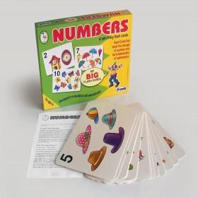 NUMBERS - BIG FLASH CARDS