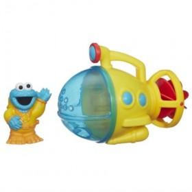 Sesame Street Cookie Monster Bath Submarine Toy: Toys & Games
