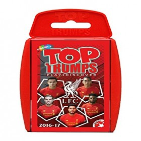 TOP TRUMPS LIVER POOL PLAYING CARD