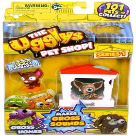 The Ugglys Pet Shop Gross Homes - Styles May Vary: Toys & Games