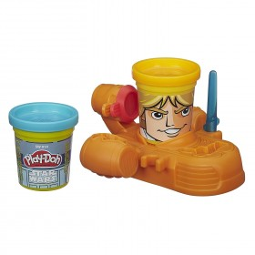 Play-Doh Star Wars Luke Skywalker and R2-D2 Can-Heads: Toys & Games