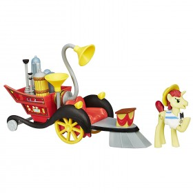 My Little Pony Friendship is Magic Collection Super Speedy Squeezy 6000 Set: Toys & Games