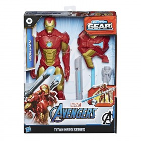 Marvel Avengers Titan Hero Series Iron Man 12-Inch Figure: Toys & Games