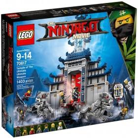 LEGO NINJAGO MOVIE TEMPLE ULTIMATE 70617