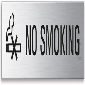 """SIGNS """" NO SMOKING """" 160 /40 MM"""