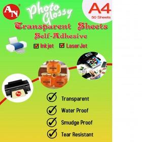 INKJET CLEAR SELF ADH A4 (5 PCS)