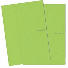 A4 STAPPLED CARD COVER NOTE BOOK SQUARE