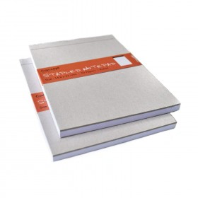 A5 STAPPLED CARD COVER NOTE BOOK RULED 8