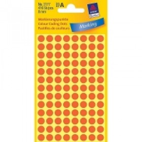 MARKING DOTS RED 8MM