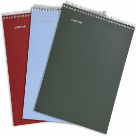 128X203MM TOP SPIRAL CARD COVER RULED 16