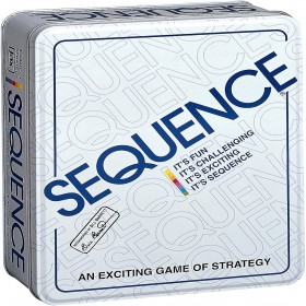 SEQUENCE TIN BOX STRATEGY GAME