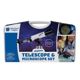 MICROSCOPE & TELESCOPE SET WITH SAFE ACC