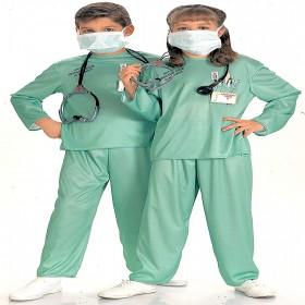 ER DOCTOR LARGE CHILD COSTUME