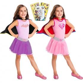 SUPER HERO GIRLS BATGIRL DRESS SET 4-6