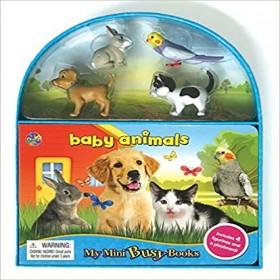 BABY ANIMALS: MY MINI BUSY BOOKS