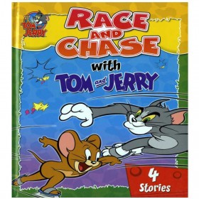 RACE & CHASE WITH TOM & JERRY 4 STORIES